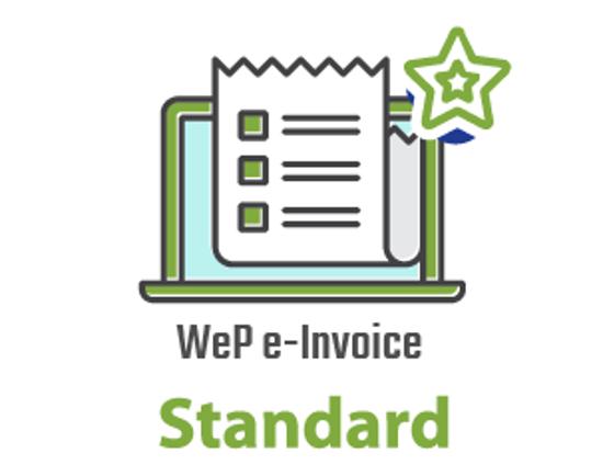WeP e-Invoicing: Standard Module की तस्वीर